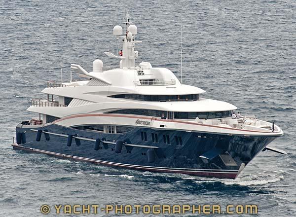 Luxury Charter Yacht Anastasia for sale